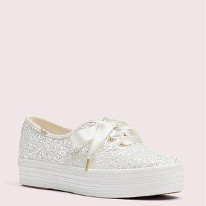Keds x Kate Spade Triple Glitter Sneaker